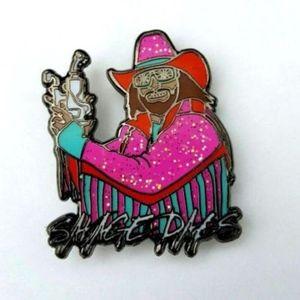 NEW! Savage Dabs Hat Pin Macho Man Dab Pins Randy